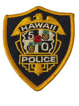 HAWAII 50 POLICE PATCH