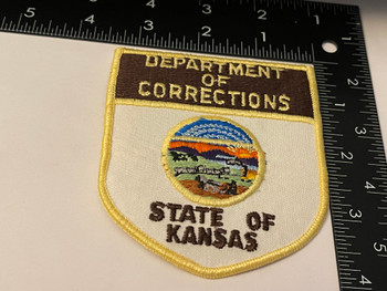 KANSAS DEPT. OF CORRECTIONS  PATCH