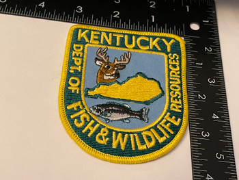 KENTUCKY FISH & WILDLIFE RESOURCES PATCH