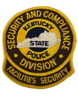 KENTUCKY STATE POLICE FACILITIES SECURITY  PATCH