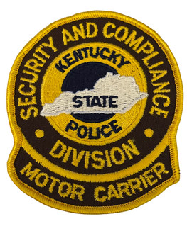 KENTUCKY STATE POLICE MOTOR CARRIER PATCH