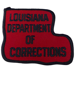 LOUISIANA DEPARTMNET OF CORRECTIONS  PATCH