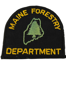 MAINE FORESTRY DEPARTMENT  PATCH
