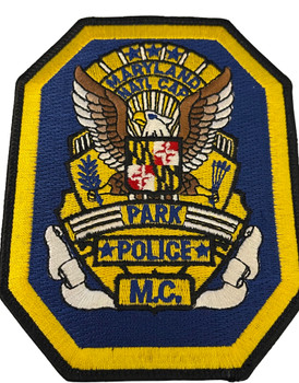 MARYLAND NATL. CAPITAL PARK POLICE MC PATCH