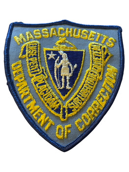 MASSACHUSETTS DEPT. OF CORRECTIONS  PATCH