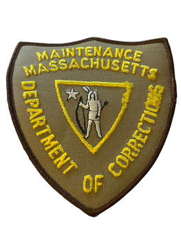 MASSACHUSETTS DEPT. OF CORRECTIONS MAINTENANCE PATCH