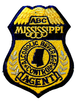 MISSISSIPPI ABC AGENT BADGE PATCH