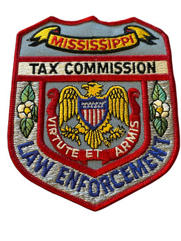MISSISSIPPI TAX COMMISSION LAW ENFORCEMENT  PATCH