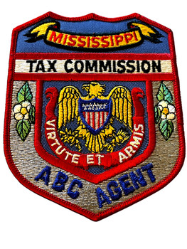MISSISSIPPI TAX COMMISSION ABC AGENT  PATCH