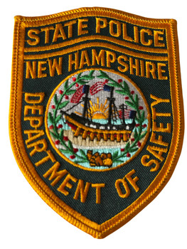 STATE POLICE NEW HAMPSHIRE DEPT. OF SAFETY PATCH