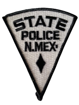 STATE POLICE NEW MEXICO  PATCH