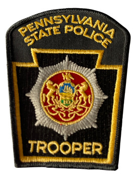 PENNSYVANIA STATE POLICE TROOPER PATCH