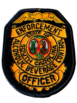 SOUTH CAROLINA ALCOHLIC BEVERAGE CONTROL OFFICER PATCH