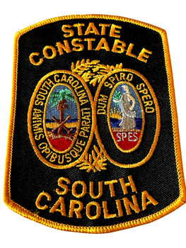 SOUTH CAROLINA STATE CONSTABLE  PATCH