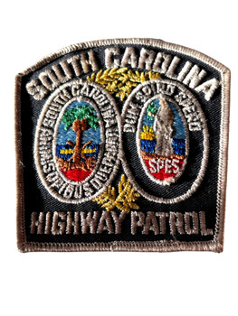 SOUTH CAROLINA HIGHWAY PATROL FULL COLOR PATCH