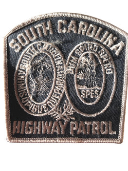 SOUTH CAROLINA HIGHWAY PATROL SILVER PATCH