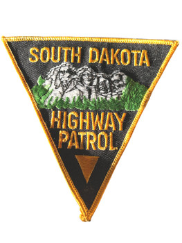 SOUTH DAKOTA HIGHWAY PATROL PATCH
