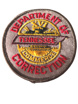 TENNESSEE DEPT OF CORRECTION PATCH