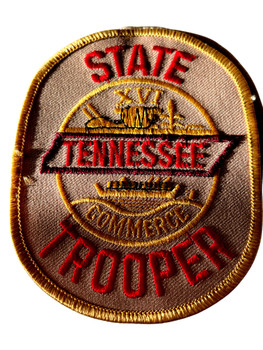 STATE OF TENNESSEE COMMERCE TROOPER PATCH