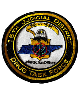TENNESSEE 15TH JUDICIAL DRUG TASK FORCE  PATCH