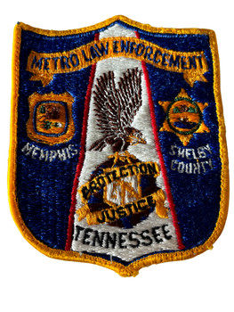 TENNESSEE METRO LAW ENFORCEMENT  PATCH
