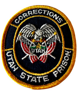 UTAH STATE PRISON CORRECTIONS PATCH