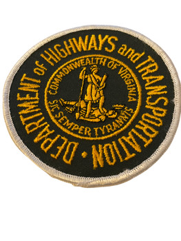 VIRGINIA HIGHWAYS & TRANSPORTATION  PATCH