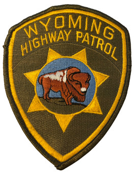 WYOMING HIGHWAY PATROL PATCH