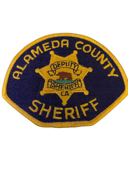 ALAMEDA COUNTY SHERIFF CA PATCH