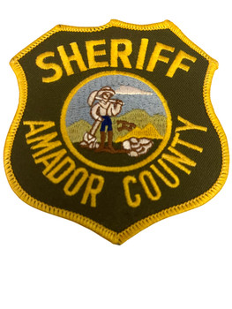 AMADOR COUNTY SHERIFF CA PATCH
