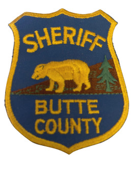 BUTTE COUNTY SHERIFF CA PATCH