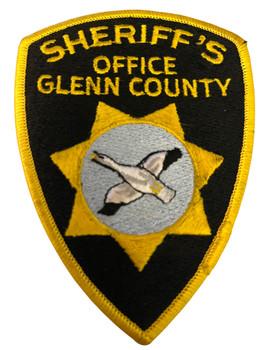 GLENN COUNTY SHERIFF CA PATCH 2