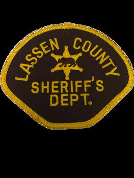 LASSEN COUNTY SHERIFF CA PATCH