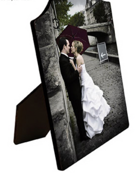 Hardboard Photo Panel with Easel 5x7 Arch