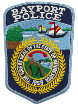 BAYPORT POLICE MN PATCH