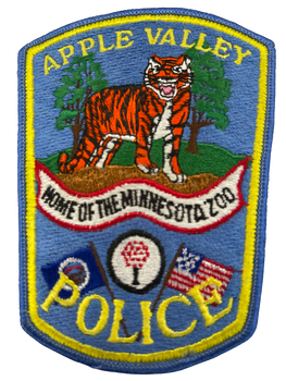 APPLE VALLEY POLICE MN PATCH