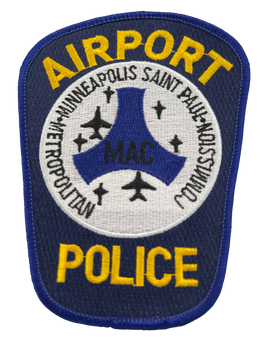 MINNEAPOLIS ST PAUL AIRPORT POLICE MN PATCH