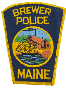 BREWER POLICE ME POLICE PATCH