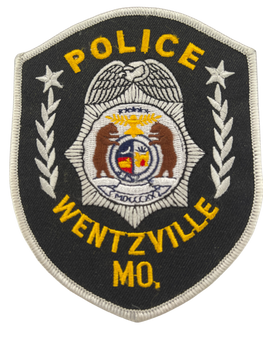 WENTZVILLE MO POLICE PATCH