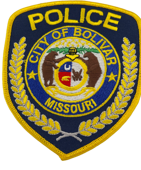 BOLIVAR MO POLICE PATCH