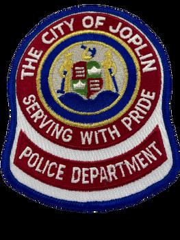 JOPLIN MO POLICE PATCH