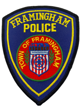 FRAMINGHAM POLICE MA PATCH