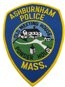 ASHBURNHAM MA POLICE PATCH