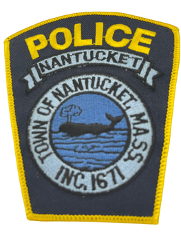 NANTUCKET MA POLICE PATCH