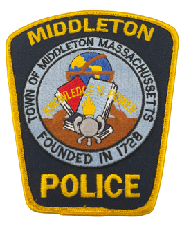 MIDDLETON MA POLICE PATCH