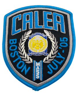 CALEA BOSTON 2005 POLICE PATCH