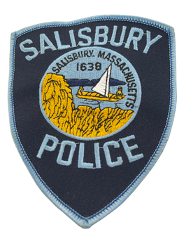 SALISBURY MA POLICE PATCH