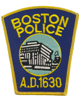 BOSTON MA POLICE PATCH