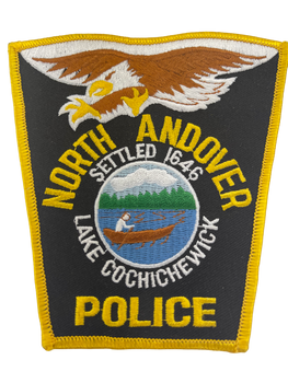 NORTH ANDOVER MA POLICE PATCH