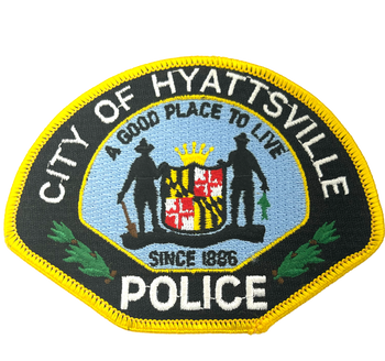 HYATTSVILLE MD POLICE PATCH